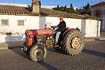 Man On Tractor
