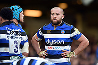 Tom Dunn of Bath Rugby looks on. Aviva Premiership match, between Bath Rugby and Harlequins on November 25, 2017 at the Recreation Ground in Bath, England. Photo by: Patrick Khachfe / Onside Images