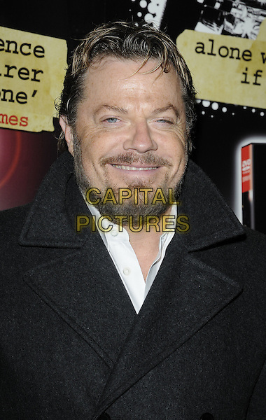 EDDIE IZZARD.Attending Eddie Izzard's DVD Premiere at Cineworld Haymarket, London, England, UK, November 18th 2010..headshot portarit black coat white shirt beard facial hair smiling  .CAP/CAN.©Can Nguyen/Capital Pictures.