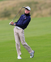 Liam Power (Galway) on the 14th fairway during the Connacht Final of the AIG Barton Shield at Galway Bay Golf Club, Galway, Co Galway. 11/08/2017<br /> <br /> Picture: Golffile | Thos Caffrey<br /> <br /> <br /> All photo usage must carry mandatory copyright credit     (&copy; Golffile | Thos Caffrey)