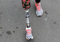BOGOTA -COLOMBIA , 3- ABRIL-2016. Carrera atlética 10k presta tu pierna /   10k athletic career lends your leg . Photo: VizzorImage / Felipe Caicedo / Staff