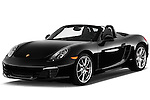 Front three quarter view of a .2013 Porsche Boxster S