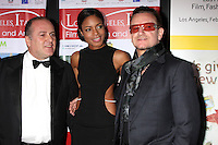 Carlo Bocchi, Naomie Harris, Bono<br />