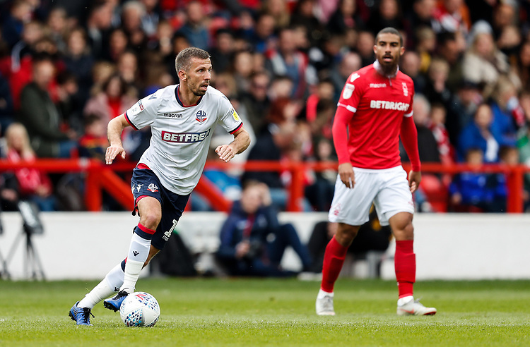 Bolton Wanderers' Gary O'Neil <br /> <br /> Photographer Andrew Kearns/CameraSport<br /> <br /> The EFL Sky Bet Championship - Nottingham Forest v Bolton Wanderers - Sunday 5th May 2019 - The City Ground - Nottingham<br /> <br /> World Copyright © 2019 CameraSport. All rights reserved. 43 Linden Ave. Countesthorpe. Leicester. England. LE8 5PG - Tel: +44 (0) 116 277 4147 - admin@camerasport.com - www.camerasport.com