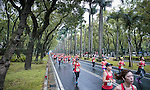 Athletes running during the Nike+ Run Club Women's Half Marathon Taipei 2016 on 10 April 2016 in Taipei, Taiwan Photo by Victor Fraile / Power Sport Images