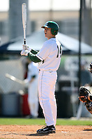 February 20, 2009:  Outfielder Brandon Eckerle (14) of Michigan State University during the Big East-Big Ten Challenge at Jack Russell Stadium in Clearwater, FL.  Photo by:  Mike Janes/Four Seam Images
