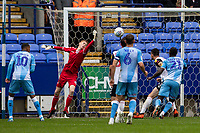 Bolton Wanderers' goalkeeper Matthew Alexander saves<br /> <br /> Photographer Andrew Kearns/CameraSport<br /> <br /> The EFL Sky Bet Championship - Bolton Wanderers v Coventry City - Saturday 10th August 2019 - University of Bolton Stadium - Bolton<br /> <br /> World Copyright © 2019 CameraSport. All rights reserved. 43 Linden Ave. Countesthorpe. Leicester. England. LE8 5PG - Tel: +44 (0) 116 277 4147 - admin@camerasport.com - www.camerasport.com