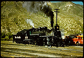 D&amp;RGW #476 K-28 in Durango.<br /> D&amp;RGW  Durango, CO