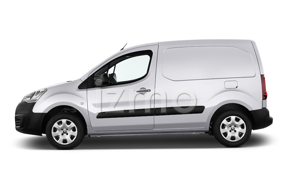 Car Driver side profile view of a 2015 Peugeot Partner - 4 Door Car Van Side View