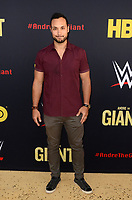 """LOS ANGELES - FEB 29:  Jaylen Moore at the """"Andre The Giant"""" HBO Premiere at the Cinerama Dome on February 29, 2018 in Los Angeles, CA"""