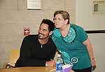 Bold and the Beautiful's Don Diamont and fan are a part of Soapstar Spectacular presented by KDKA-TV stars Y&R, BB, GL and ATWT on June 13, 2010 at the Petersen Events Center, University of Pittsburgh, PA and benefited the Susan G. Komen for the Cure Pittsburgh Affiliate. (Photo by Sue Coflin/Max Photos)