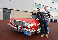 2008 12 04 Starsky and Hutch Car, Liberty Stadium, Swansea, Wales, UK