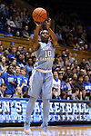 24 January 2016: North Carolina's Jamie Cherry. The Duke University Blue Devils hosted the University of North Carolina Tar Heels at Cameron Indoor Stadium in Durham, North Carolina in a 2015-16 NCAA Division I Women's Basketball game. Duke won the game 71-55.