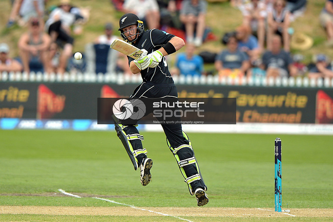 NELSON, NEW ZEALAND January 9: New Zealand Black Caps v Pakistan - 2nd ODI, Saxton Oval, Nelson, New Zealand, January 9, 2018 (Photos by: Barry Whitnall/Shuttersport Ltd)