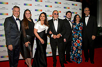 Gloria Estefan, her husband, Emilio, and their family, arrive for the formal Artist's Dinner honoring the recipients of the 40th Annual Kennedy Center Honors hosted by United States Secretary of State Rex Tillerson at the US Department of State in Washington, D.C. on Saturday, December 2, 2017. The 2017 honorees are: American dancer and choreographer Carmen de Lavallade; Cuban American singer-songwriter and actress Gloria Estefan; American hip hop artist and entertainment icon LL COOL J; American television writer and producer Norman Lear; and American musician and record producer Lionel Richie.  <br /> Credit: Ron Sachs / Pool via CNP /MediaPunch