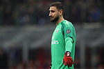 Gianluigi Donnarumma of AC Milan during the Coppa Italia match at Giuseppe Meazza, Milan. Picture date: 13th February 2020. Picture credit should read: Jonathan Moscrop/Sportimage