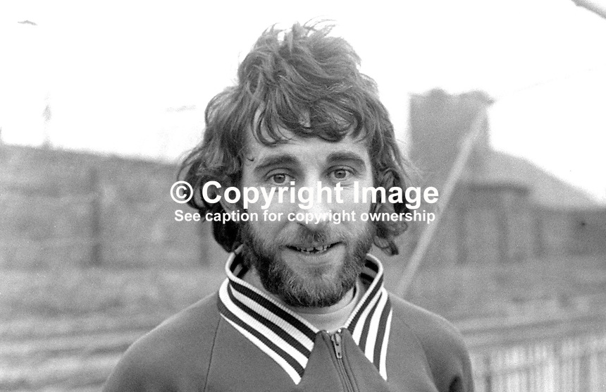 Terry Nicholson, goalkeeper, Crusaders FC, Belfast, N Ireland, 197303280162<br /> <br /> Copyright Image from Victor Patterson, 54 Dorchester Park, Belfast, UK, BT9 6RJ<br /> <br /> t1: +44 28 9066 1296 (from Rep of Ireland 048 9066 1296)<br /> t2: +44 28 9002 2446 (from Rep of Ireland 048 9002 2446)<br /> m: +44 7802 353836<br /> <br /> e1: victorpatterson@me.com<br /> e2: victorpatterson@gmail.com<br /> <br /> The use of my copyright images is subject to my Terms &amp; Conditions.<br /> <br /> It is IMPORTANT that you familiarise yourself with them. They are available on my website at www.victorpatterson.com.<br /> <br /> None of my copyright images may be used on a website unless they are visibly watermarked, i.e. &copy; Victor Patterson within the body of the visible image. Metadata denoting my copyright must NOT be deleted. <br /> <br /> Web use is extra at currently recommended NUJ rates.