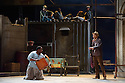 Cape Town Opera returns to the London Coliseum with their acclaimed production of Porgy and Bess. Picture shows: Victor Ryan Robertson (Sporting Life) and Xolela Sixaba (Porgy).