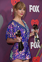 14 March 2019 - Los Angeles, California - Taylor Swift. 2019 iHeart Radio Music Awards - Press Room held at Microsoft Theater. Photo Credit: Birdie Thompson/AdMedia