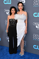 Angelina Jolie &amp; Loung Ung at the 23rd Annual Critics' Choice Awards at Barker Hangar, Santa Monica, USA 11 Jan. 2018<br /> Picture: Paul Smith/Featureflash/SilverHub 0208 004 5359 sales@silverhubmedia.com