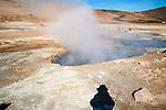 Boiling Mud Pots Iceland