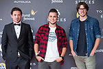 Nicolas Onetti, Daniel M. Caneiro and Andres Goteira attends to 'Blood Red Carpet' at Sitges Film Festival in Barcelona, Spain October 11, 2017. (ALTERPHOTOS/Borja B.Hojas)