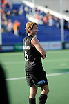 The Hague, Netherlands, June 01: Andy Hayward #5 of New Zealand celebrates after winning the field hockey group match (Men - Group B) between the Black Sticks of New Zealand and Korea on June 1, 2014 during the World Cup 2014 at GreenFields Stadium in The Hague, Netherlands. Final score 2:1 (1:0) (Photo by Dirk Markgraf / www.265-images.com) *** Local caption ***