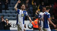 Blackburn Rovers' Charlie Mulgrew celebrates scoring his side's third goal <br /> <br /> Photographer Rachel Holborn/CameraSport<br /> <br /> The EFL Sky Bet League One - Blackburn Rovers v Shrewsbury Town - Saturday 13th January 2018 - Ewood Park - Blackburn<br /> <br /> World Copyright &copy; 2018 CameraSport. All rights reserved. 43 Linden Ave. Countesthorpe. Leicester. England. LE8 5PG - Tel: +44 (0) 116 277 4147 - admin@camerasport.com - www.camerasport.com