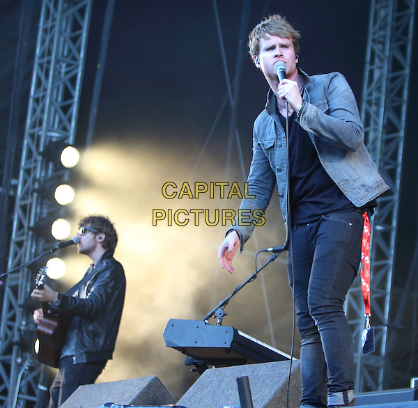 CHELMSFORD, ESSEX - Kodaline perform at V Festival 2015 at Hylands Park, on 22nd and 23rd of August 2015 in Chelmsford, Essex<br /> CAP/ROS<br /> &copy;Steve Ross/Capital Pictures