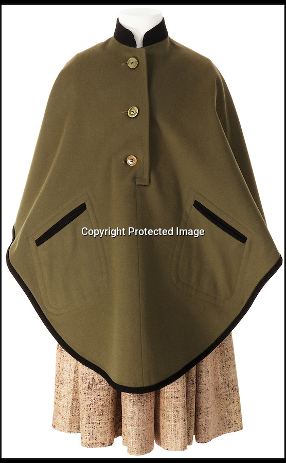 BNPS.co.uk (01202) 558833<br /> Picture: ProfilesInHistory/BNPS<br /> <br /> ****Please use full byline****<br /> <br /> A Von Trapp childs cape.<br /> <br /> A set of iconic costumes worn by singing family the Von Trapps in hit film The Sound of Music has emerged for sale for £150,000.<br /> <br /> The collection includes 14 outfits from the celebrated 1965 musical which starred Brit Julie Andrews as a nun who teaches the children of a widowed Navy officer to sing.<br /> <br /> The highlight of the set is a uniform worn by Christopher Plummer as Captain Georg Von Trapp in famed songs 'So Long, Farewell' and 'Edelweiss'.<br /> <br /> Also included are five of the seven Von Trapp children's outfits from the same numbers and two capes worn by the children in 'Climb Ev'ry Mountain'.
