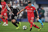 Charles Aranguiz of Leverkusen , Federico Bernardeschi of Juventus <br /> Torino 01/10/2019 Juventus Stadium <br /> Football Champions League 2019//2020 <br /> Group Stage Group D <br /> Juventus - Leverkusen <br /> Photo Andrea Staccioli / Insidefoto