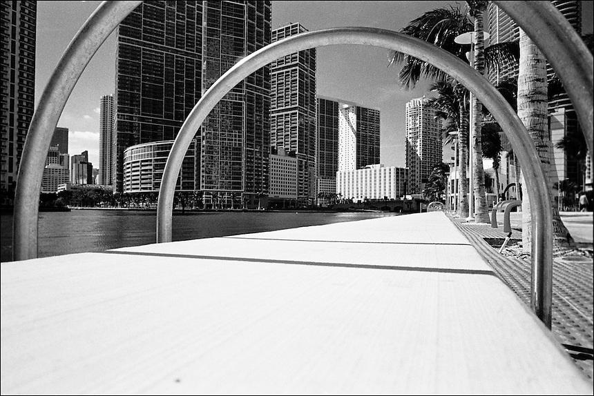 Miami River<br /> From &quot;Miami in Black and White&quot; series. Miami, FL, 2008