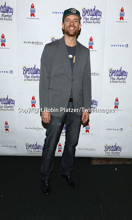 Paul Nolan attends the 28th Annual  Broadway Cares/ Equity Fights Aids Flea Market and Auction on September 21,2014 in Shubert Alley in New York City. <br /> <br /> photo by Robin Platzer/Twin Images<br />  <br /> phone number 212-935-0770