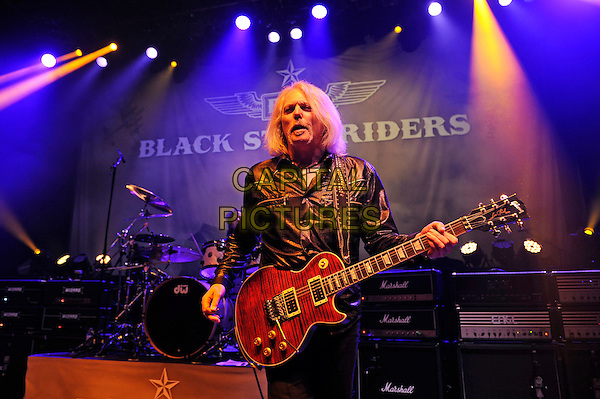 LONDON, ENGLAND - MARCH 20: Scott Gorham of 'Black Star Riders' performing at Shepherd's Bush Empire on March 20, 2015 in London, England.<br /> CAP/MAR<br /> &copy; Martin Harris/Capital Pictures