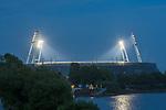 nphgm001: Impressionen rund um das erste  Geisterspiel in der Geschichte des 1. Werder Bremen am Montagabend<br /> <br /> im Bild: Das Stadion in der Dunkelheit.<br /> <br /> Sport: Fussball: 1. Bundesliga: Saison 19/20: <br /> Werder Bremen vs Bayer04 Leverkusen 18.05.2020<br /> <br /> Nur für journalistische Zwecke! Only for editorial use!<br /> <br /> DFL regulations prohibit any use of photographs as image sequences and/or quasi-video.<br /> <br /> Foto ©   nordphoto / gumzmedia / Stoever