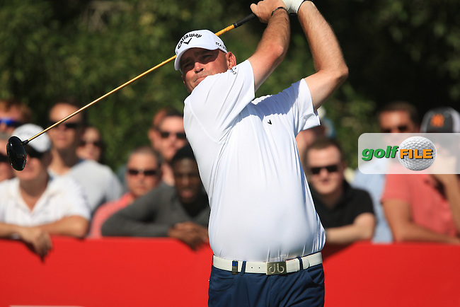Thomas Bjorn (DEN) on the third day of the DUBAI WORLD CHAMPIONSHIP presented by DP World, Jumeirah Golf Estates, Dubai, United Arab Emirates.Picture Denise Cleary www.golffile.ie