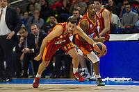 Galatasaray´s Arslan and Carter during 2014-15 Euroleague Basketball match between Real Madrid and Galatasaray at Palacio de los Deportes stadium in Madrid, Spain. January 08, 2015. (ALTERPHOTOS/Luis Fernandez) /NortePhoto /NortePhoto.com
