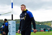 Sam Nixon of Bath Rugby leaves the field prior to the match. Gallagher Premiership match, between Bath Rugby and Wasps on May 5, 2019 at the Recreation Ground in Bath, England. Photo by: Patrick Khachfe / Onside Images