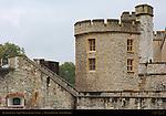 Tower of London, Legge's Mount, Devereux Tower, London, England, UK
