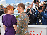 "CANNES, FRANCE. May 16, 2019: Bryce Dallas Howard & Taron Egerton at the photocall for the ""Rocketman"" at the 72nd Festival de Cannes.<br /> Picture: Paul Smith / Featureflash"
