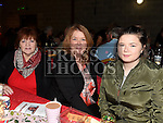 Mary McShane, Paula and Evelyn Holmes at the Trio Royale show in St. Kevins GAA club Philipstown. Photo:Colin Bell/pressphotos.ie