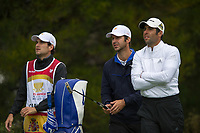 Jorge Campillo (ESP) and Adrian Otaegui (ESP) during the second day of the World cup of Golf, The Metropolitan Golf Club, The Metropolitan Golf Club, Victoria, Australia. 23/11/2018<br /> Picture: Golffile | Anthony Powter<br /> <br /> <br /> All photo usage must carry mandatory copyright credit (© Golffile | Anthony Powter)