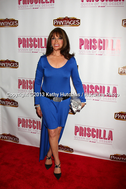 """LOS ANGELES - MAY 29:  Kate Linder arrives at  the """"Priscilla Queen of the Desert"""" Play Opening at the Pantages Theater on May 29, 2013 in Los Angeles, CA"""