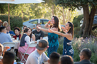 Asian Pacific Islander Graduation Celebration at Thorne Lawn/Patio, May 19, 2017.<br /> Cultural Graduation Celebrations are an opportunity for smaller groups to come together and acknowledge students' accomplishments with family and friends while celebrating the rich diversity of our campus. The Office of Intercultural Affairs partners with cultural organizations to coordinate the events.<br /> (Photo by Marc Campos, Occidental College Photographer)