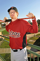 Feb 25, 2010; Kissimmee, FL, USA; The Houston Astros catcher J.R. Towles (46) during photoday at Osceola County Stadium. Mandatory Credit: Tomasso De Rosa / FOUR SEAM IMAGES