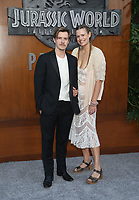 LOS ANGELES, CA - JUNE 12: Xavier Samuel, Marianna Palka, at Jurassic World: Fallen Kingdom Premiere at Walt Disney Concert Hall, Los Angeles Music Center in Los Angeles, California on June 12, 2018. <br /> CAP/MPIFS<br /> &copy;MPIFS/Capital Pictures
