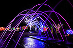 "Daniel Stowe Botanical Garden - ""Lights in the Garden"" Christmas"