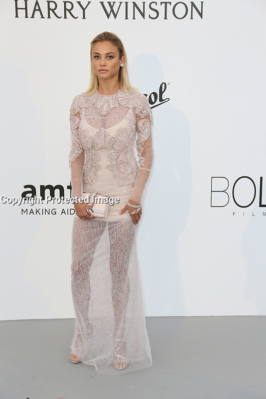 ROSE BERTRAM amfAR Gala Cannes 2017 - Arrivals<br /> CAP D'ANTIBES, FRANCE - MAY 25 arrives at the amfAR Gala Cannes 2017 at Hotel du Cap-Eden-Roc on May 25, 2017 in Cap d'Antibes, France