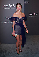 NEW YORK, NY - FEBRUARY 6: Nina Agdal arriving at the 21st annual amfAR Gala New York benefit for AIDS research during New York Fashion Week at Cipriani Wall Street in New York City on February 6, 2019. <br /> CAP/MPI99<br /> ©MPI99/Capital Pictures