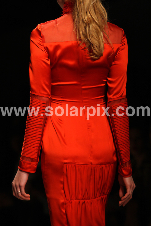 **ALL ROUND PICTURES FROM SOLARPIX.COM**                                             **WORLDWIDE SYNDICATION RIGHTS**                                                                                  Caption: Emilio de la Morena's collection during London Fashion Week A/W 2011 at Somerset House in London, UK. 22 February 2011                                                                              This pic: Emilio de la Morena catwalk show                                                                                            JOB REF: 12871 MLW       DATE: 22_02_2011                                                           **MUST CREDIT SOLARPIX.COM OR DOUBLE FEE WILL BE CHARGED**                                                                      **MUST AGREE FEE BEFORE ONLINE USAGE**                               **CALL US ON: +34 952 811 768 or LOW RATE FROM UK 0844 617 7637**